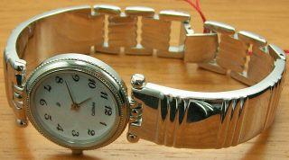 Aristo 8d18r Elegante Quartz Damenuhr Stahl Spangenband Uhr Watch Bild