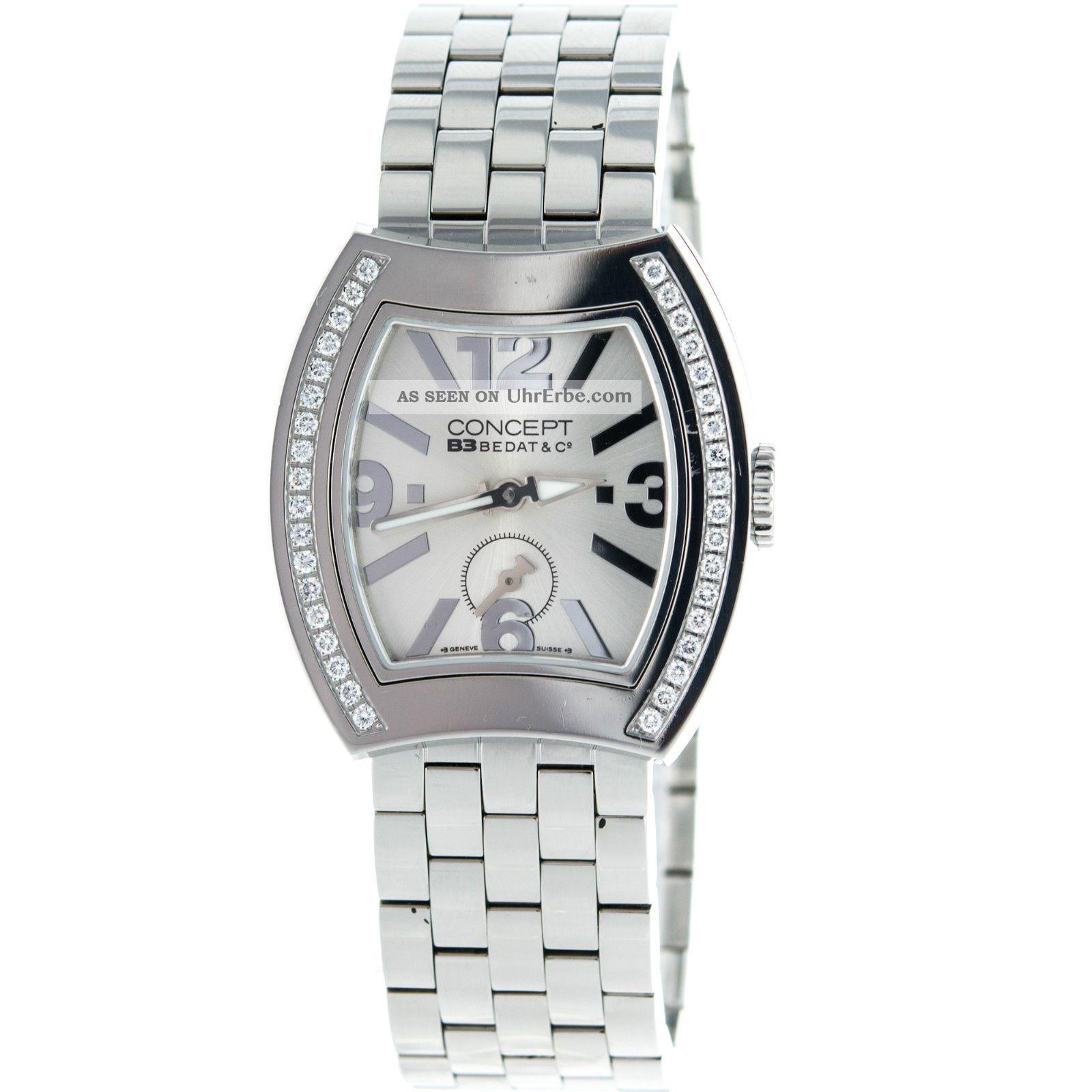 Bedat & Co.  Konzet B3 2163 Diamant Einfassung Edelstahl Frauen Uhr Armbanduhren Bild