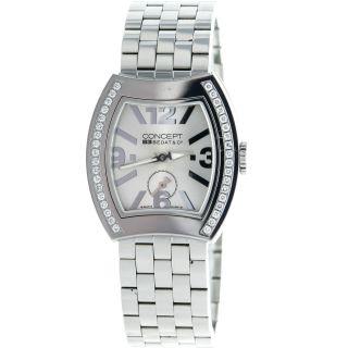 Bedat & Co.  Konzet B3 2163 Diamant Einfassung Edelstahl Frauen Uhr Bild