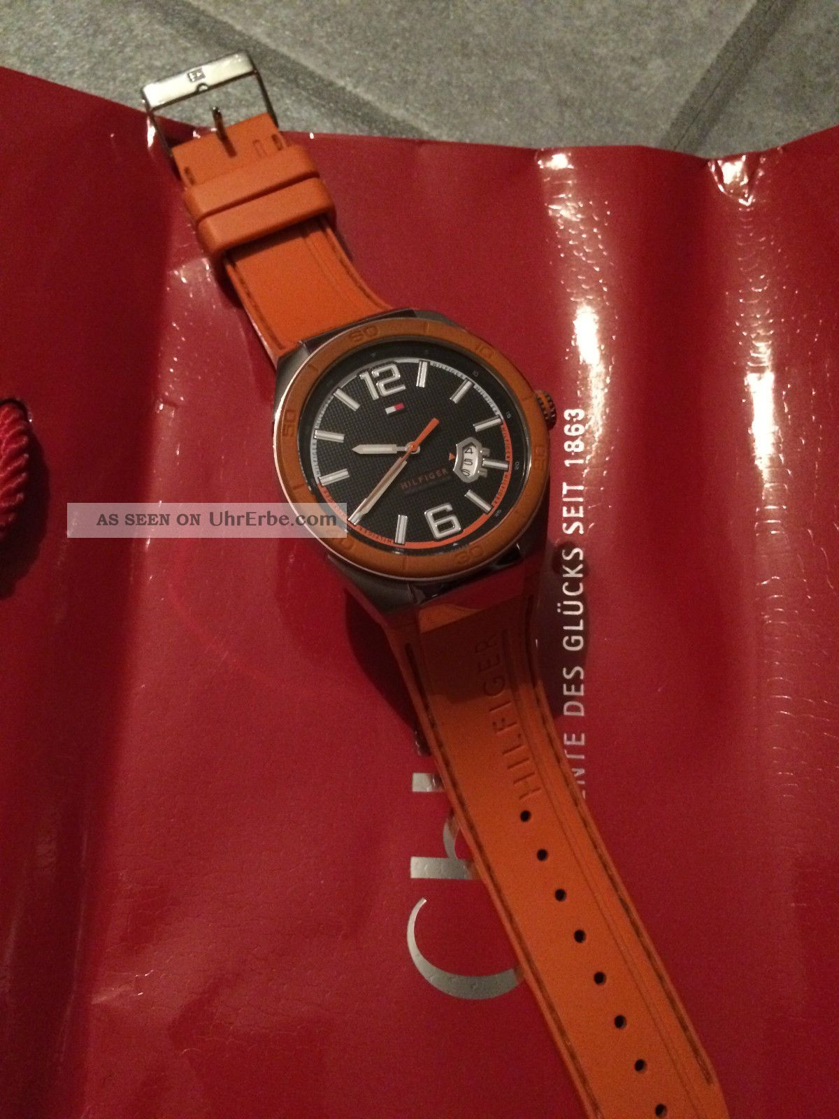 Tommy Hilfiger Uhr Neuwertig Armbanduhren Bild