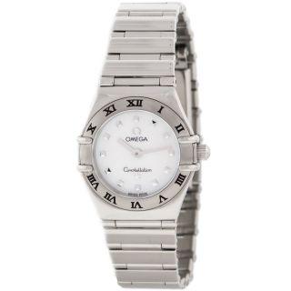 Armbanduhr Damen Omega Constellation