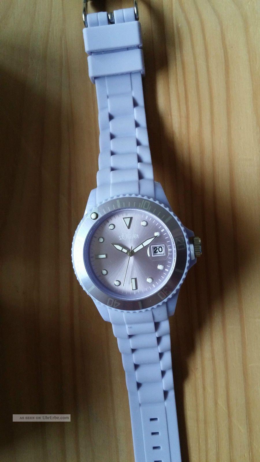 Damenarmbanduhr,  S.  Oliver, Armbanduhren Bild