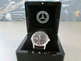 Armbanduhr,  Herren,  Silber/schwarz,  Edelstahl Bild
