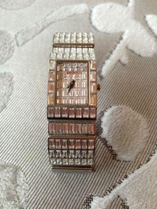 Dkny Uhr Silber Steinchen Bild