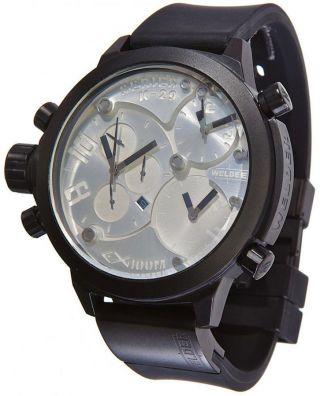 Herren Armbanduhr Welder Von U - Boat K29 Dreifach Zeitzone Chronograph K29 - 8000 Bild