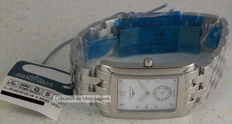 Longines Dolce Vita - Edelstahl Herren Uhr,  Schweizer Quartzuhr L5.  655.  4.  16.  6 Armbanduhren Bild