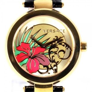 Versace Damenuhr Mystique Golden Sunray Bild