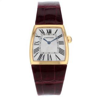 Quartz Armbanduhr Für Damen Cartier La Dona Large W6400456 18k Rose Gold Bild