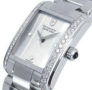 Damen Armbanduhr Swiss Army Vivante Stahl & Diamant Swiss Silber 241488 Bild