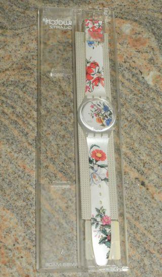 Swatch Gw132 Spring Touch In Originalverpackung - Aus Sammlung - Bild