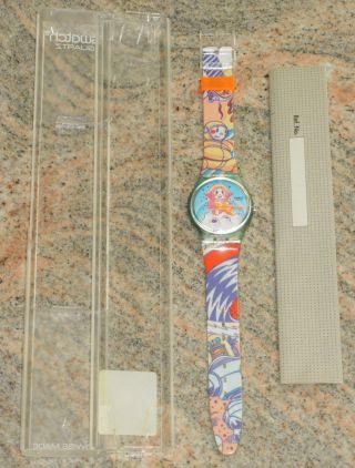 Swatch Gg118 Yuri Mondfahrer - In Originalverpackung - Aus Sammlung Bild