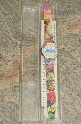 Swatch Gn127 Postcard - In Originalverpackung - Aus Sammlung - Bild