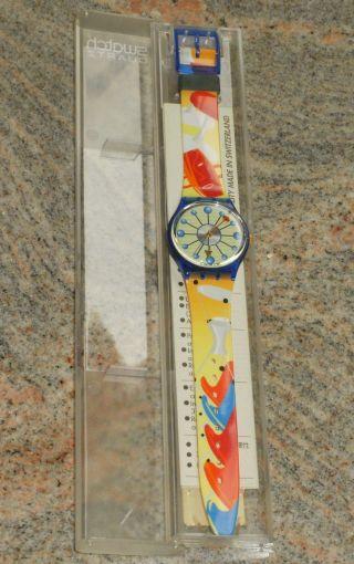 Swatch Gn141 Sitzung - In Originalverpackung - Aus Sammlung - Bild