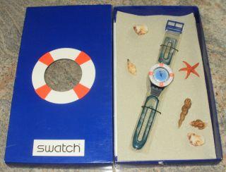 Swatch Scuba Loomi Sdn904 Rescue In Verpackung Maritim - Bild