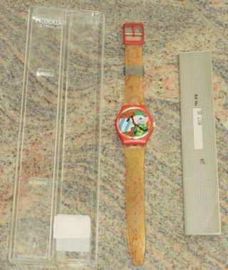 Swatch Gr116 Collage DorÉ - In Originalverpackung - Aus Sammlung - Bild
