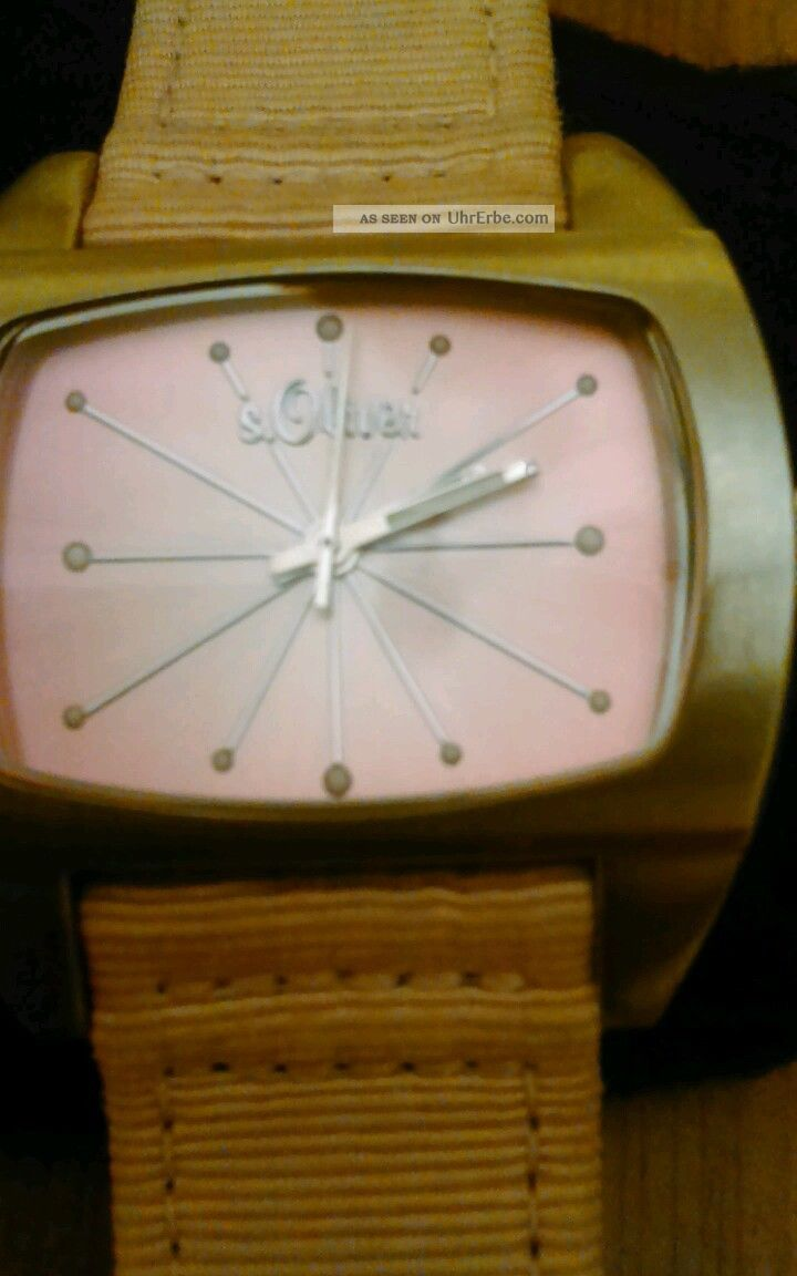 S.  Oliver Damen Uhr Armbanduhren Bild
