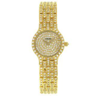 Concord Armbanduhr Damen Les Palais 750 Gelbgold Labor Diamant Quartz 59 - 62 - 264 Bild