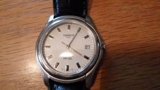 Tissot 1863 Pr 50 Titanium Uhr Armbanduhr Herren °top Zustand° Bild