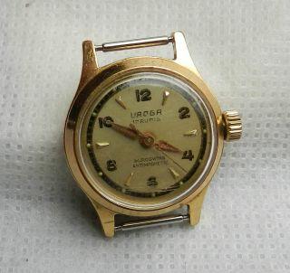 Damen - Armbanduhr - Uroga - 17 Rubis Duroswing Antimagnetic - Handaufzug Bild