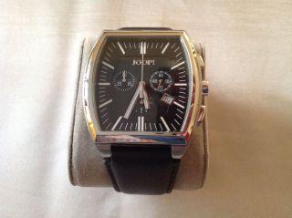 Joop Herrenchronograph - Schwarzes Zifferblatt - Lederarmband - Aus Uhrensammlung Bild