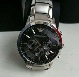 Emporio Armani Classic Ar2434 Armbanduhr Für Herren Bild