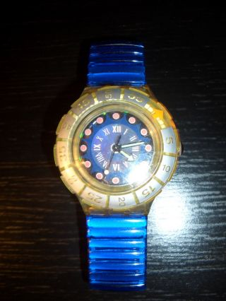 Swatch Scuba Spark Vessel Sdk116 Armbanduhr Uhr Bild