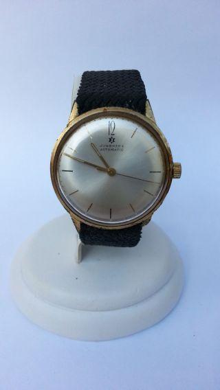 Feine Junghans Herren Armbanduhr Automatic,  Sammleruhr Vintage Antik Automatik Bild