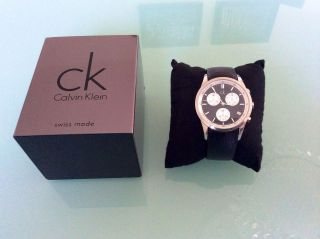 Angebot: Calvin Klein Herrenuhr Chronograph (ovp) Bild