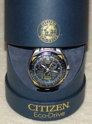 Citizen Promaster Navihawk Blue Angels Armbanduhr Ansehen Bild