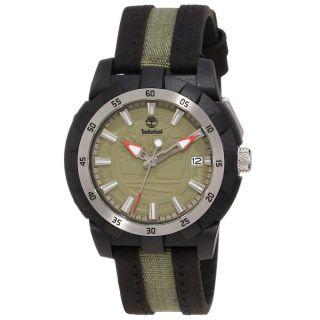 Armbanduhr Timberland Tbl - 13323mpbs - 24 Grüne Wahl Leder Und Nylonband Damen Bild