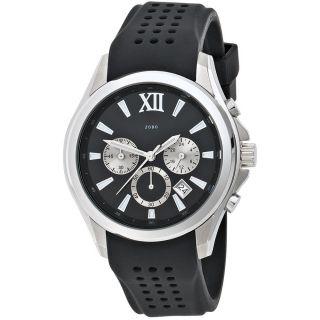 Jobo Herren Uhr Armbanduhr Uhr Quarz Chronograph Edelstahl Armbanduhr J - 37290 Bild