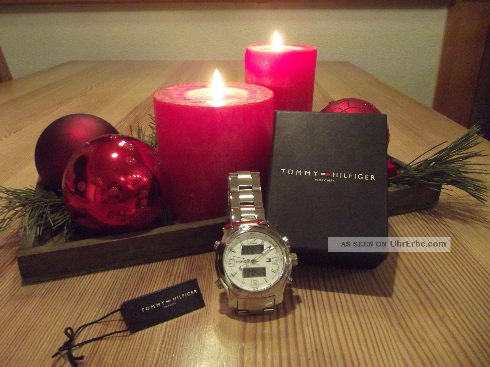 Uhr Chronograph Tommy Hilfiger Herren Armbanduhr Weihnachsgeschenk Geschenk Armbanduhren Bild