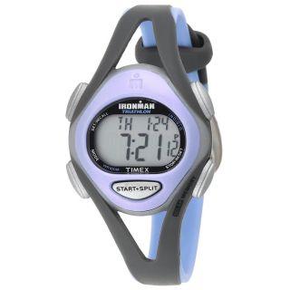 Timex T5e511 Damen ' S Ironman 50 - Knietablett Chrono Grau & Violett Kunstharz Bild