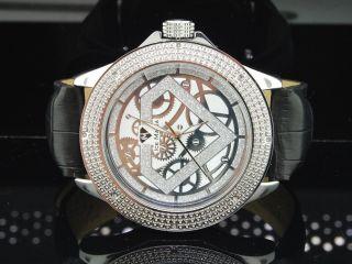 Armbanduhr Jojo Icetime Herren Diamant Glänzend Weiß Im3016 Bild