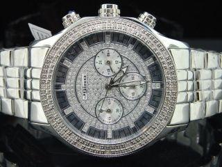 Herren Uhr Jojino Jojo Rodeo Mit Diamanten Uhr 25ct 45mm Ij1128 Bild