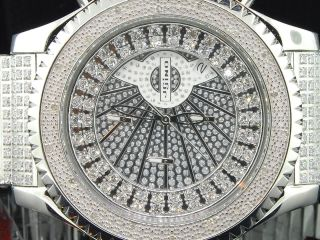 Armbanduhr Herren Uhr Weiss Joe Rodeo 0.  15ct Mit Diamanten Mj8014 Bild