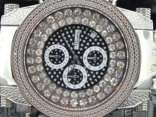 Armbanduhr FÜr Herren Weiss Jojino Rodeo 0.  18ct Diamanten Uhr Mj8001 Bild