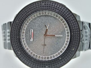 Herrenuhr Jojino Joe Rodeo.  30ct Diamant Schwarztöne Bild