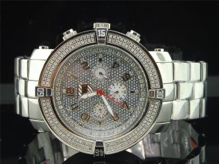 Herrenuhr Platin Co.  Joe Rodeo 5th Ave 278 Diamant Seitlich Pwc - 5av118 Bild