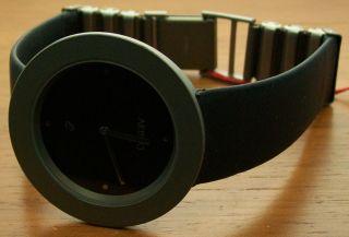 Aristo 5h14g Elegante Quartz Damenuhr Titan Kautschukband Uhr Watch Bild