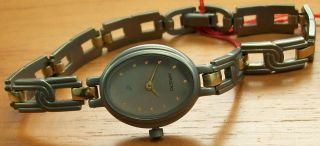 Aristo 5d06e Elegante Quartz Damenuhr Titan Titanband Uhr Watch Bild