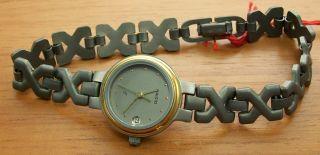 Aristo 5d02b Elegante Quartz Damenuhr Titan Titanband Uhr Watch Bild