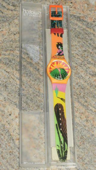 Swatch Go102 Tequila - In Verpackung - Aus Sammlung - Bild