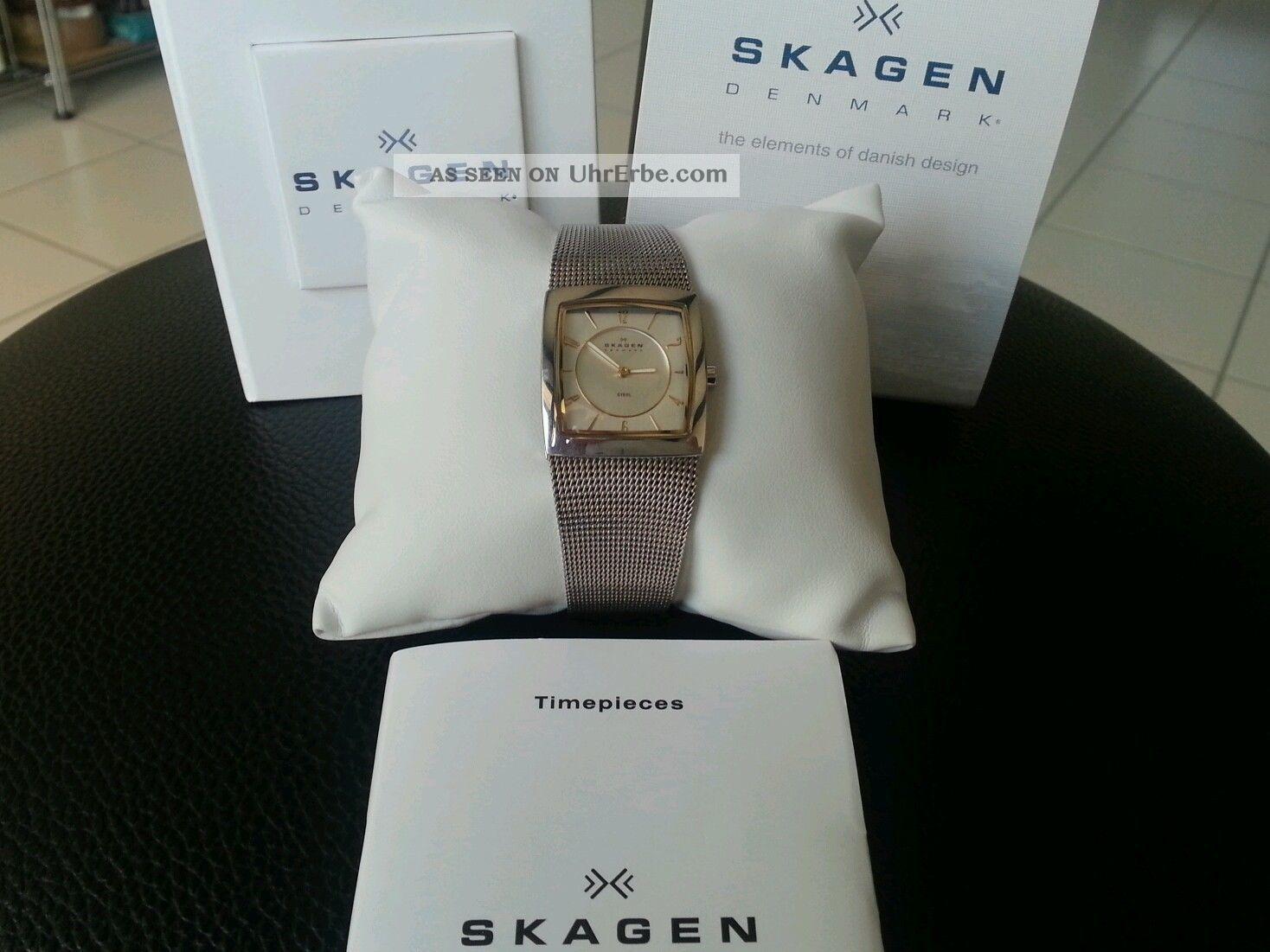 Skagen Damenuhr Slimline Armbanduhren Bild