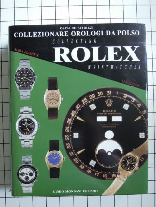 Osvaldo Patrizzi - Collecting Rolex Wristwatches Referenzwerk 1998 Bild