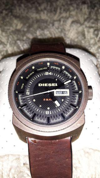 Diesel Dz4239 Herren Armbanduhr Braun Bild
