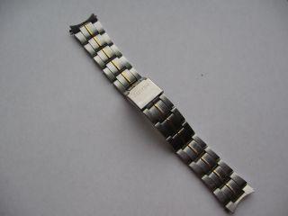 Citizen Edelstahl Armband Bicolor Für Herren Uhr Bild