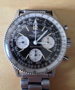 Breitling Navitimer Chronograph Ref.  806 Mit Certificat Bild