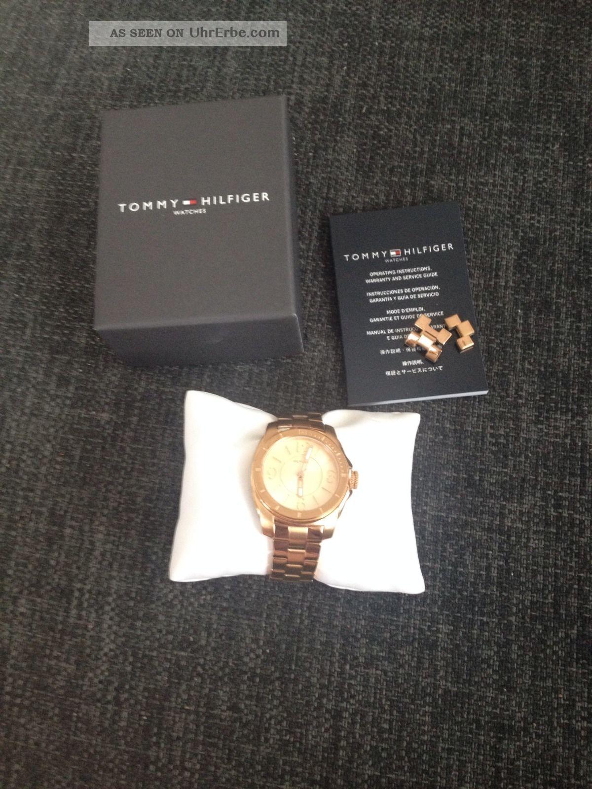 Damenuhr Von Tommy Hilfiger,  Top Armbanduhren Bild