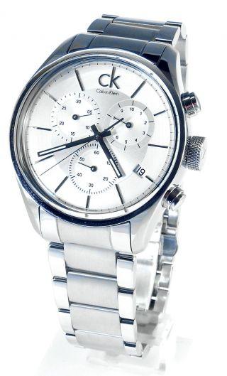 Calvin Klein K2h27126 Herren Armbanduhr Uhr Edelstahl Bild
